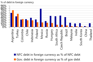 Figure 3: Emerging markets are vulnerable to currency volatility